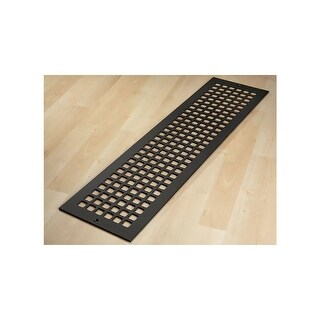 "Reggio Registers G832-SNH Grid Series 30"" x 6"" Floor Grille without Mounting Hol - N/A"