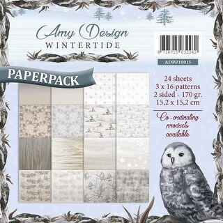 """Find It Trading Amy Design Paper Pack 6""""X6""""-Wintertide"""