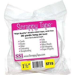 "Scrappy Tape 1.5""X30 Yards-"