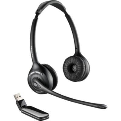 Plantronics 84008-01 Savi W420-M Binaural Over-The-Head Usb Wireless Headset With Mic