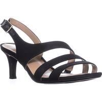 naturalizer Taimi Comfort Dress Sandals, Black Fabric