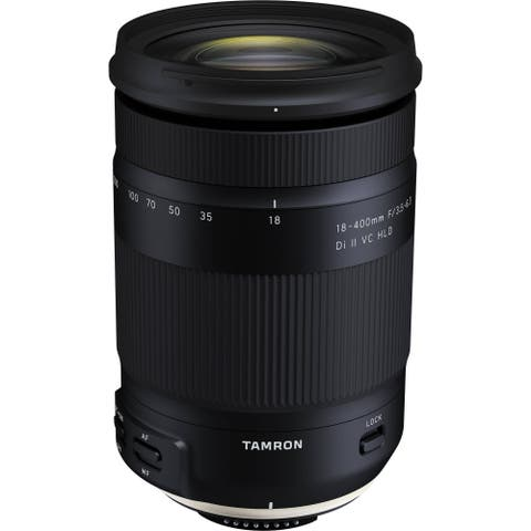 Tamron 18-400mm f/3.5-6.3 Di II VC HLD Lens for Nikon F (Open Box)