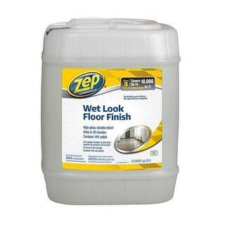 Zep ZUWLFF5G Wet Look Floor Finish, 5 Gallon