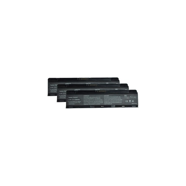 Battery for Toshiba PA5023U-1BRS (3-Pack) Laptop Battery