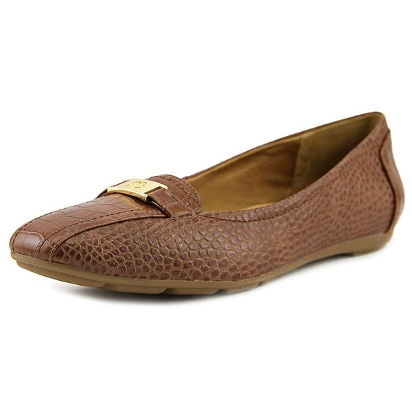 Giani Bernini Jileese Women Bicycle Toe Synthetic Brown Loafer