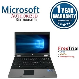 Refurbished HP ProBook 6450B 14.0'' Laptop Intel Core i5-520M 2.4G 4G DDR3 250G DVDRW Win 10 Pro 1 Year Warranty