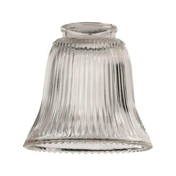 Quorum International Q2291 Fan Light Kit Glassware - clear ribbed