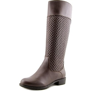 Propet Bailey Women Round Toe Leather Knee High Boot