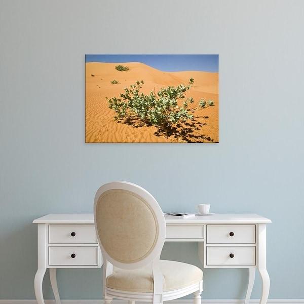 Easy Art Prints Walter Bibikow's 'Wahiba Sand Dunes' Premium Canvas Art