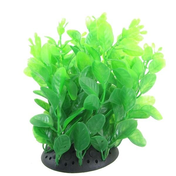 Shop Fish Tank Ornament Decor Green Plastic Plant 6.3