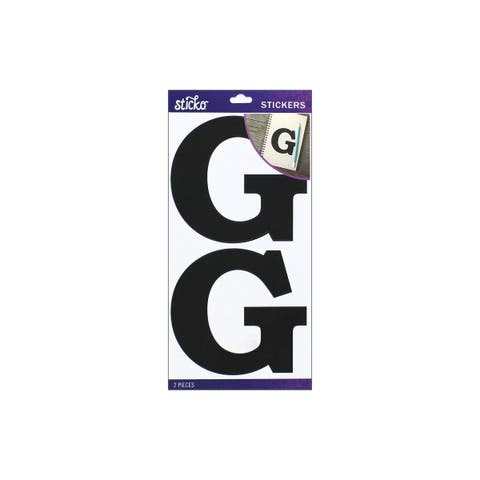 52-90416 ek sticko sticker basic black monogram g