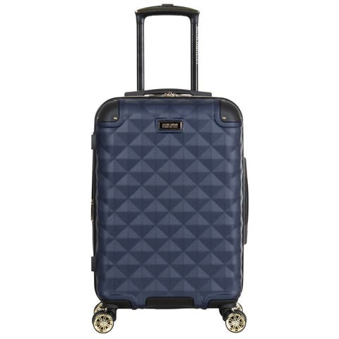 """Kenneth Cole Reaction Diamond Tower 20"""" Hardside Lightweight Expandable 8-Wheel Spinner Travel Carry-On Luggage"""