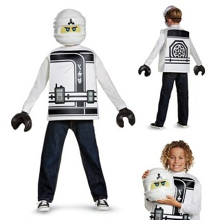 Boys LEGO Ninjago Movie Zane Halloween Costume
