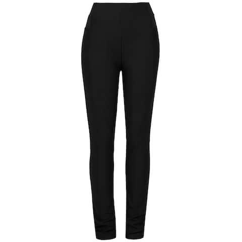 2b94f5ade08 NE PEOPLE Women's Casual Slim Fit Pull On Dress Pants Plus 1X-3X