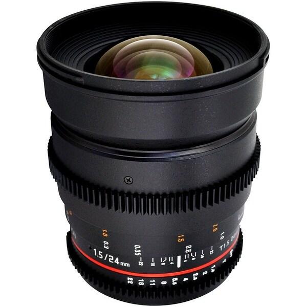 Rokinon 24mm T1.5 Cine ED AS IF UMC Lens for Nikon F Mount - Black