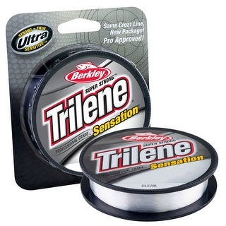 Berkley Trilene Sensation 8 lb Test Fishing Line - 330 yds - Clear