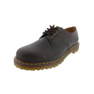 Dr. Martens Mens Stanton Leather Contrast Trim Casual Shoes - 13 medium (d)