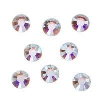 Swarovski Elements Crystal, Round Flatback Rhinestone SS40 8.5mm, 8 Pieces, Crystal AB