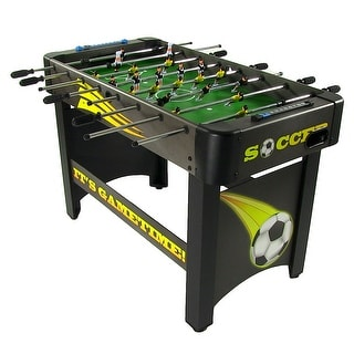 Sunnydaze 48 Inch Foosball Soccer Table Top Foosball Game Room Table