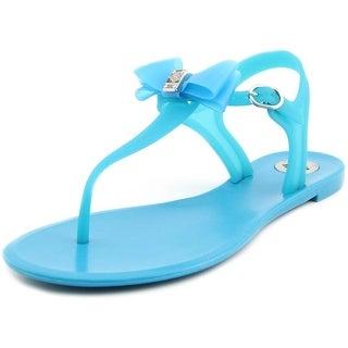 BCBGeneration Delight Women Open Toe Synthetic Blue Thong Sandal