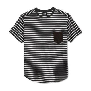 Shop Wht Space Shaun White New Black White Mens Size 2xl Striped Tee