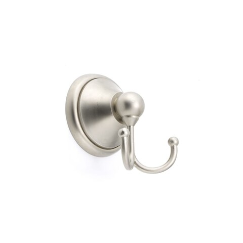 Richelieu 495 Empire 2-11/16 Inch Double Robe Hook - PEWTER - n/a