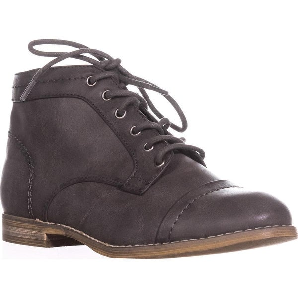 Indigo Rd. Harts Oxford Booties, Dark Gray