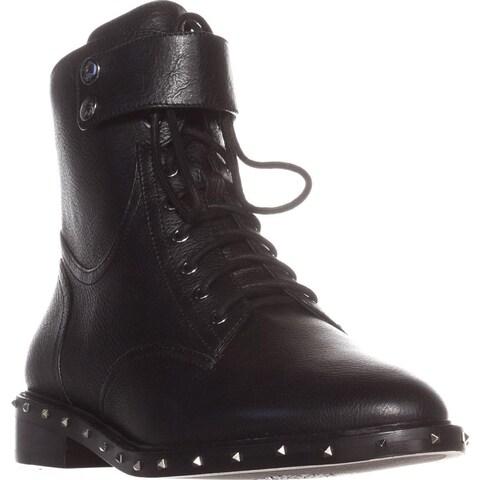 Vince Camuto Talorini Motorcycle Boots, Black