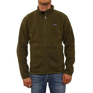 Patagonia Men Men's Better Sweater Jacket Fleece Willow Herb Green