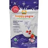 Happy Family - Organic Superfoods Yogurt And Fruit Snacks - Mixed Berry ( 8 - 1 OZ)