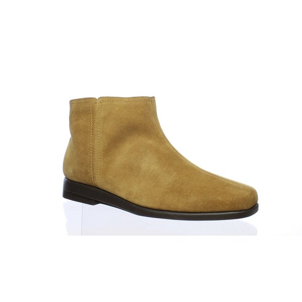 Tan Suede Ankle Boots Size