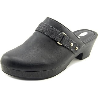 Dr. Scholl's Jessa Round Toe Synthetic Clogs