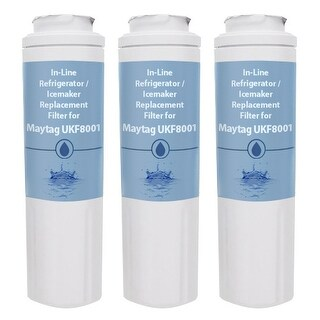 Replacement Water Filter Cartridge for Maytag MBF1958DEH - (3 Pack)