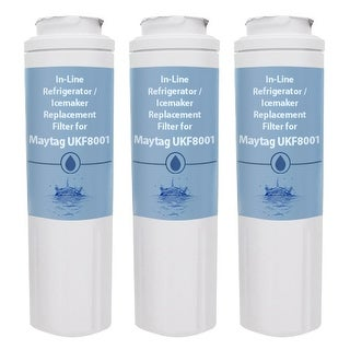 Replacement Water Filter Cartridge for Maytag MBF2258DEE - (3 Pack)