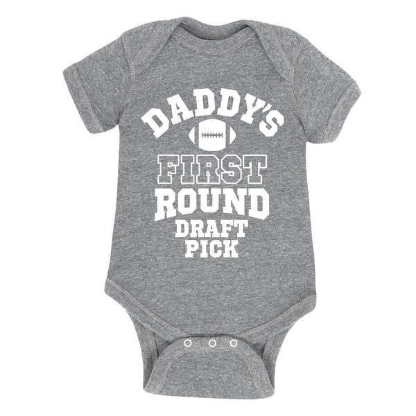 Daddy First Round Draft - Infant One Piece