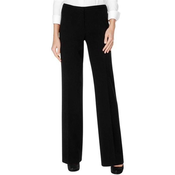 Calvin Klein Womens Hudson Dress Pants Flat Front Stretch