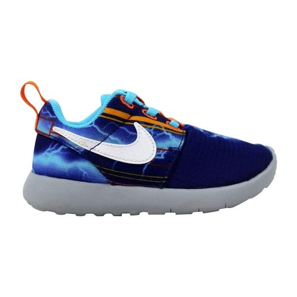 8791ba104b Nike Roshe One Print Deep Royal Blue/White-University Gold Toddler  749358-401