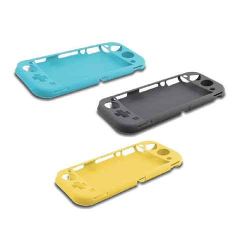 Nyko Silicone Cover Multi-Pak for Nintendo Switch Lite - Grey/Turquoise/Yellow