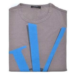 Versace Jeans Couture Men's Cartoon VJC logo Cotton T-Shirt Brown