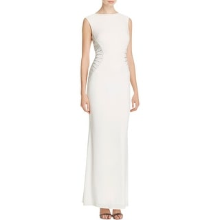 Laundry by Shelli Segal Womens Evening Dress Matte Jersey Embellished