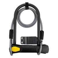 SUNLITE Lock Pwr Shield U Std 4.5X7.85/10Mmx4F Cbl Black W/Brkt - 5815
