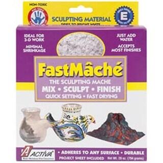 Bright White - Fastmache Sculpting Mache 2Lb