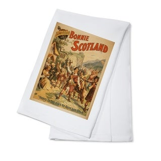 Sidney R. Ellis' Bonnie Scotland Scottish Play #4 - Vintage Advertisement (100% Cotton Towel Absorbent)