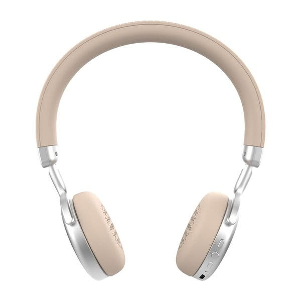 Shop Ryght Singer On Ear Wireless Bluetooth Headphone With Built In Microphone And Controls Overstock 16733240 Silver