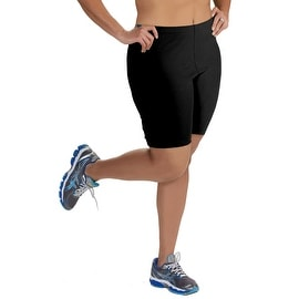Women's Plus Size Mid-Thigh Cotton Bike Shorts (1X-5X)