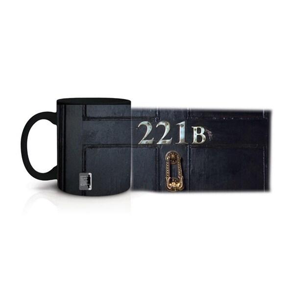 Sherlock Glow in the Dark 221B Mug - Multi