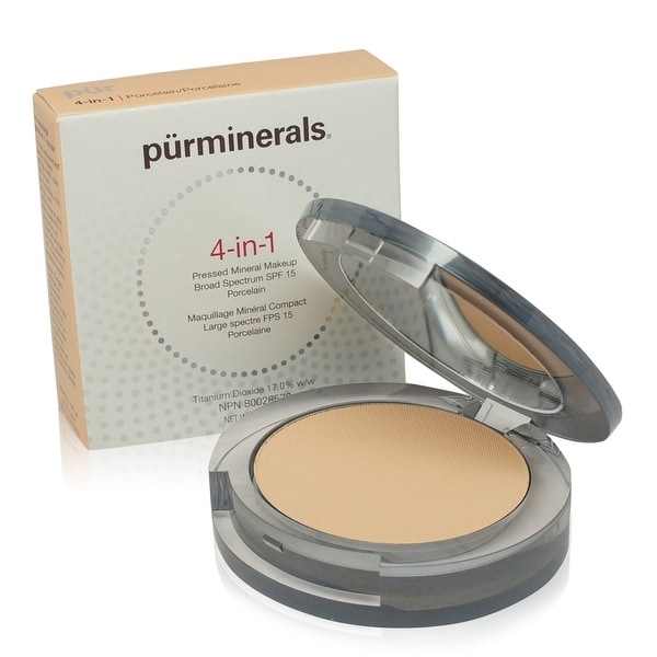 PUR 4-In-1 Pressed Mineral Makeup - Blush Medium 0.28 Oz