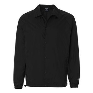 Rawlings Nylon Coach's Jacket - Black - L