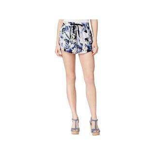 Kensie Womens Wide Leg Shorts Slouchy Pleated