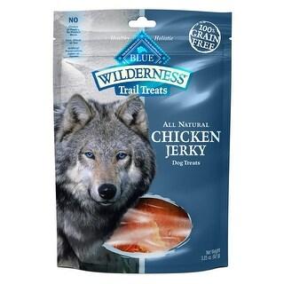 Blue Buffalo Wilderness Trail Treats Chicken Jerky 3.25oz